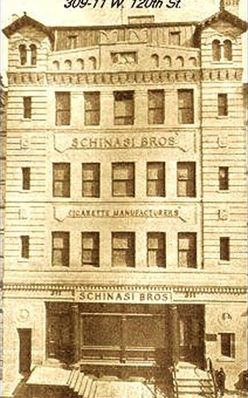 The Schinasi Bros. Tobacco Factory