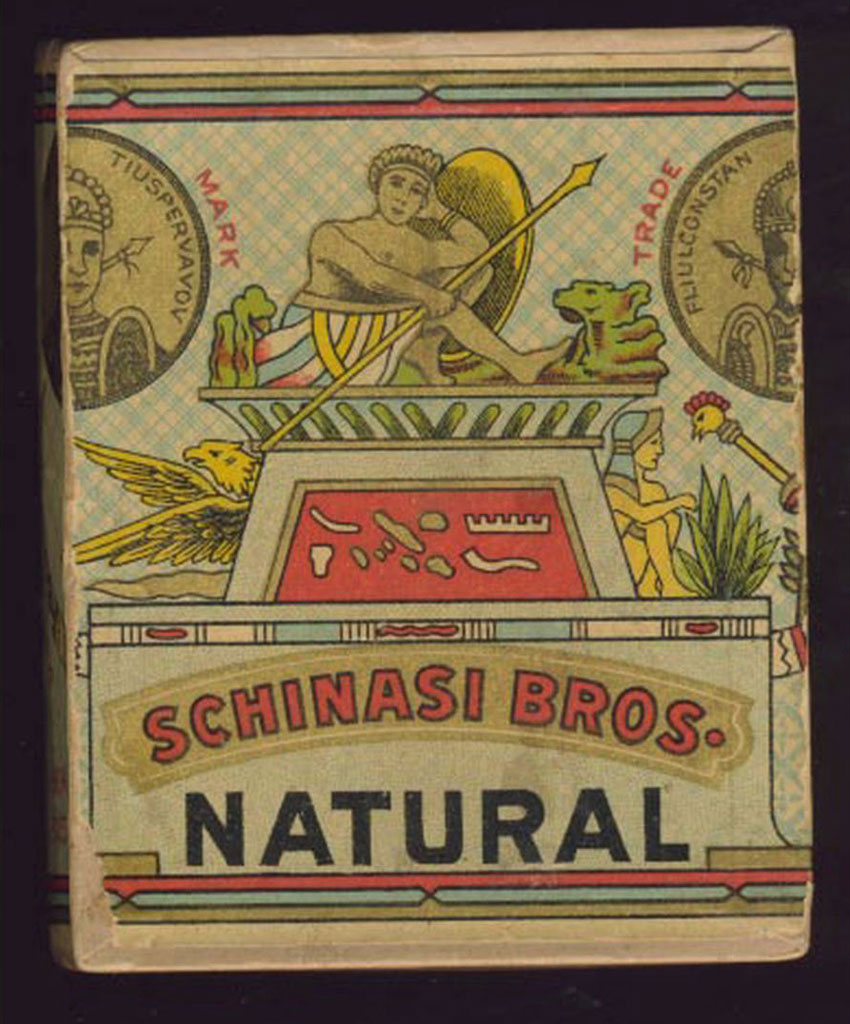 Schinasi Bros. Egyptian Cigarettes